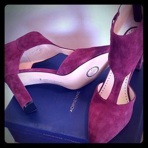 NWT Adrienne  Vittadini Nikos/Suede Womens Shoe
